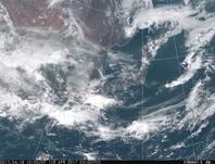 「ひまわり8号」可視画像 2017年4月16日12時JST